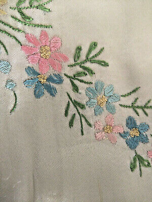 ANTIQUE 19th cen. TURKISH OTTOMAN EMBROIDERY  * BABY PILLOWCASE + BED COVER