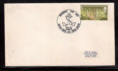 Great Britain 1970 Cover, Portsmouth Navy Day Postmark !!