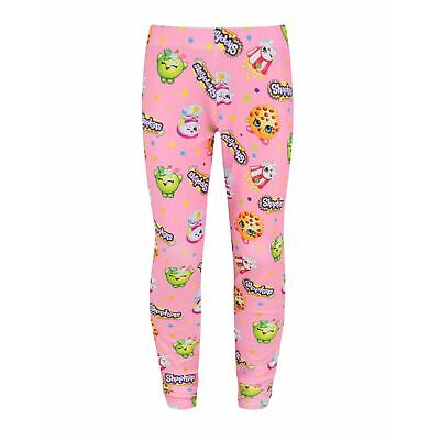 Shopkins Childrens/Girls Official Icons Design Leggings (NS205)