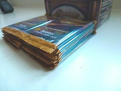 12 Quidditch Cup Booster Packs Harry Potter TCG Sealed WOTC UK STOCK Box Fresh