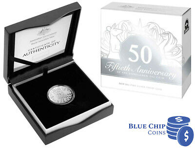 2019 50c 50th Anniversary of the 50 Cent Melbourne ANDA Expo Silver Proof Coin