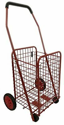 Bo Time 3760278736199 - Carro de la Compra (Metal, Plegable, Capacidad (rojo)