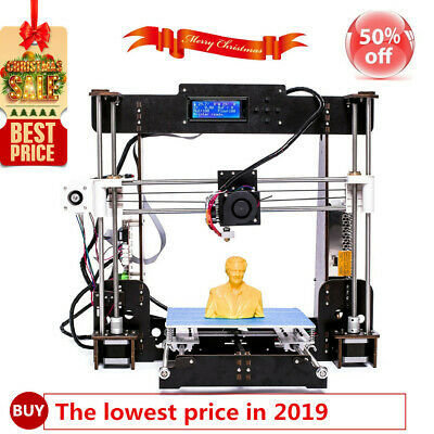 3D Printer Upgraded Full Quality High Precision Reprap i3 Kit MK8 PLA Filament