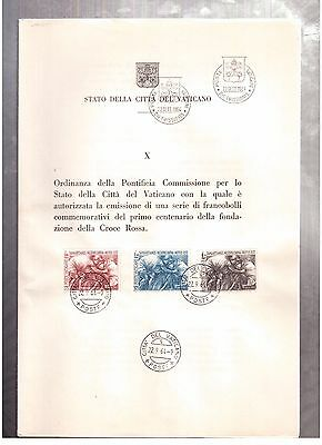 Vatican September 22, 1964, Ordinance Of The Pontifical Committee !!