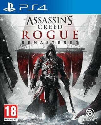Assassin's Creed Rogue Remastered Jeu Ps4 Neuf Version Francaise