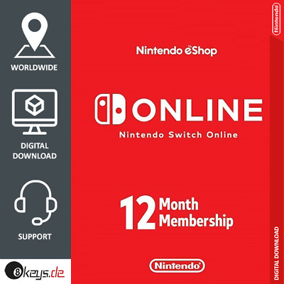 Nintendo Switch Online 12 months| Family membership Invite | until April 2021