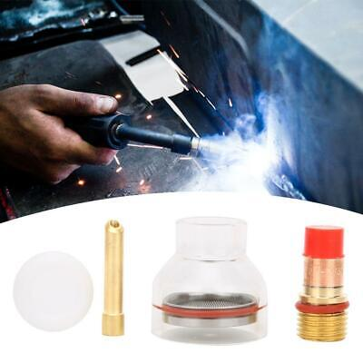 Welding Torch Accessories TIG Torch Gas Lens Collet Glass Cup for TIG-17/18/26