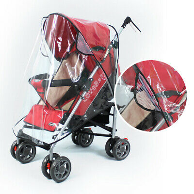 Stroller Rain Cover Windproof Universal Baby Pram Car Waterproof Weather Shield