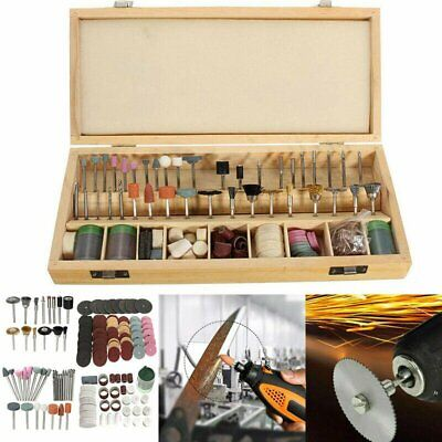 222PCS Universal Set Rotary Tool Accessory For Grinding Sanding Polishing Kit