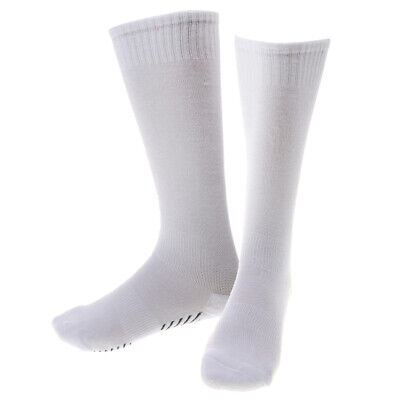 Unisex Kids Sport Football Soccer Plain Long Calf Support Socks Baseball Rugby