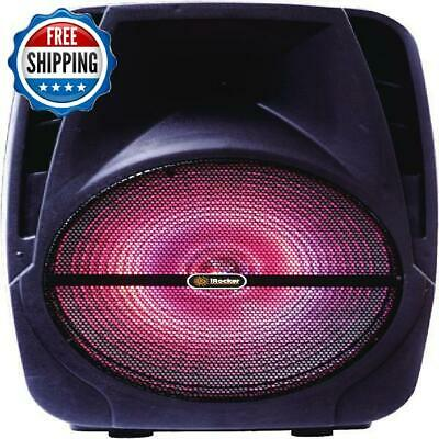 "Portable Bluetooth Party Speaker Loud 1500w Radio FM Usb Mic 15"" Powered IRocker"