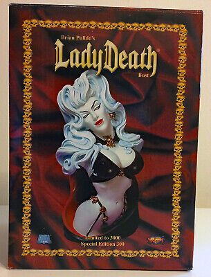 LADY DEATH 2013 Limited Edition Art Print BRIAN PULIDO Signed /& Numbered xx200