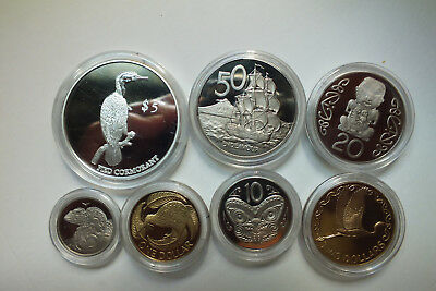 2000 New Zealand Annual Proof Coin Set.