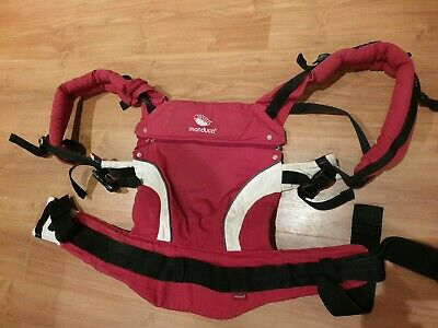 Manduca baby carrier red