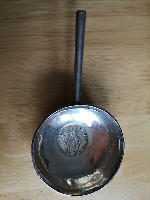 Silver Punch Ladle 31.4 g with long wooden handle missing