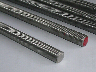 UNC , UNF A2 Stainless Steel all Threaded Bar - Studding - UK MANUFACTURED