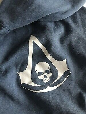 Assassins Creed Black Flag Insert Coin Rare Promotional Hoodie XL