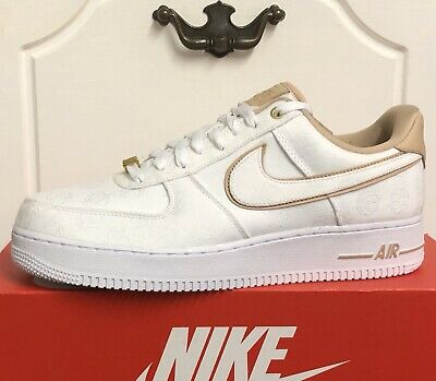Nike Air Force 1 '07 Prm Trainers Shoes Womens Uk 9,5 Eur 44,5 Us 12