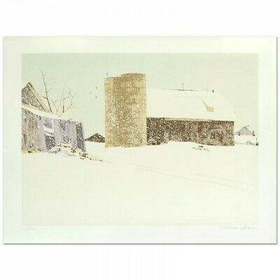 Blizzard of /'98 #1902   /_ Signed limited edition fine art print Chester Center
