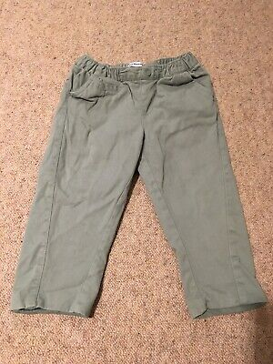Boys 12-18 Months Vertbaudet Green Trousers