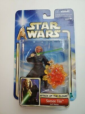 Hasbro Star Wars Episode 2 Attack of the Clones Saesee Tiin Action Figure