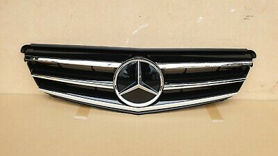 Black GRILL for Mercedes C Class w204 07-14 black Chrome Sport AMG Front Sport