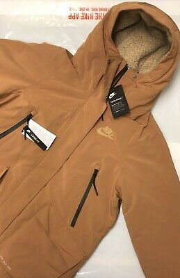 NIKE TECH PACK WOMENS PARKA JACKET FULL ZIP COAT NEW WITH TAGS Size Small