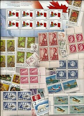 vintage MNH MINT UNUSED CANADA Canadian postage stamps lot CDN 35