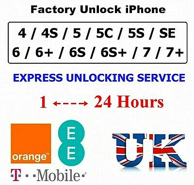 UNLOCK CODE SERVICE FOR Apple iPhone XS XR XS MAX X EE T-MOBILE UK UNLOCKING