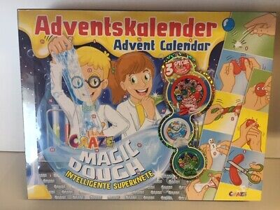 Adventskalender Magic Dough Craze 15049 Intelligente Superknete Zauberknete