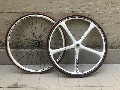 Wheel set kit conversion old road bike in Fixed / Single Speed Aerospoke Tubolar