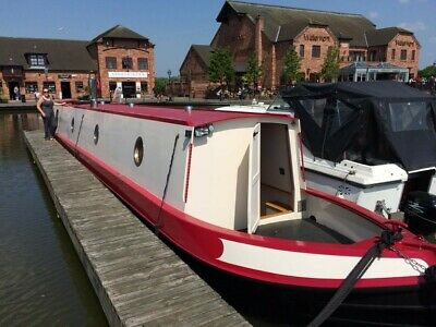 2020 57 ft Cruiser Stern Narrowboat Narrow Boat Canal Houseboat liveaboard
