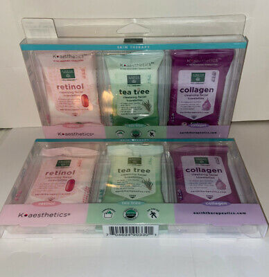 Makeup Remover Wipes Collagen by earth therapeutics #5