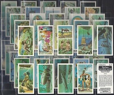 Brooke Bond-Full Set- The Sea Our Other World (50 Cards) - Exc