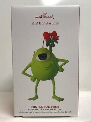 2019 Hallmark Keepsake Disney Pixar Monsters Inc Mistletoe Mike Ornament