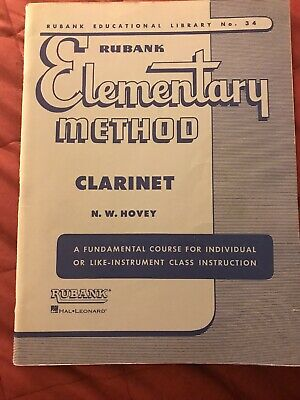 RuBank Elementary Method Clarinet Book