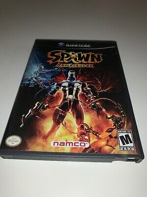 Spawn: Armageddon (Nintendo GameCube, 2003) Complete with manual Rare Namco