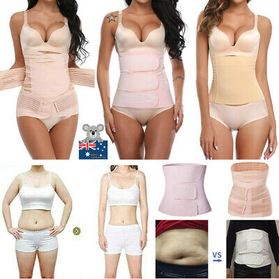 AU Women's Postpartum Maternity Recovery Belly Band Support Recovery Wrap Shaper