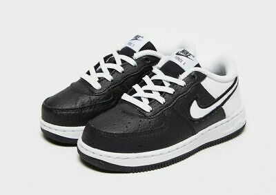 Nike Air Force 1 Low Trainers - Black/White - Size UK Toddler 3.5 - RRP £40