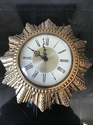 Vintage Smiths Art Deco Wall Clock