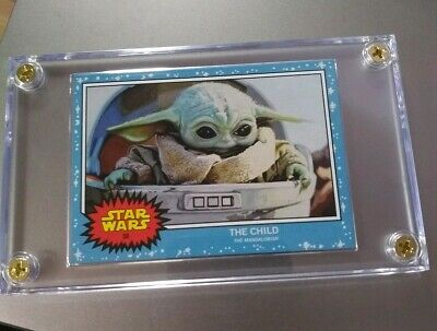 Baby Yoda Topps Star Wars Living Set Card #58 - The Child - The Mandalorian