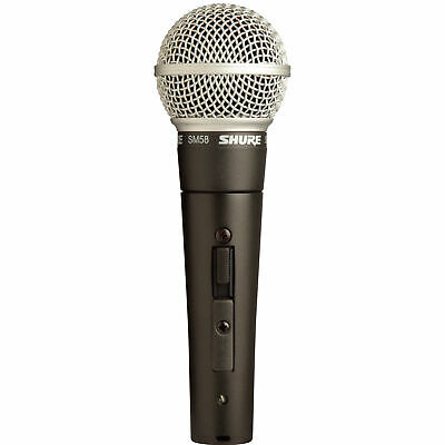 Shure SM58S Dynamic Vocal Cardioid Microphone with On/Off Switch SM58 SM58