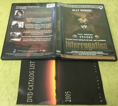 THE INTERROGATION of Michael Crowe DVD Ally Sheedy 2005 True Stories Collection