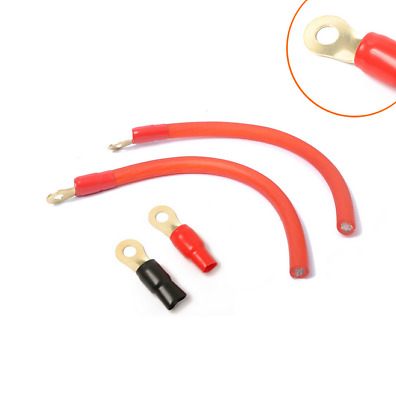IMC AUDIO 2 Gauge 100/' Ft Ground Wire Cable Red Power Car Audio Amp Awg