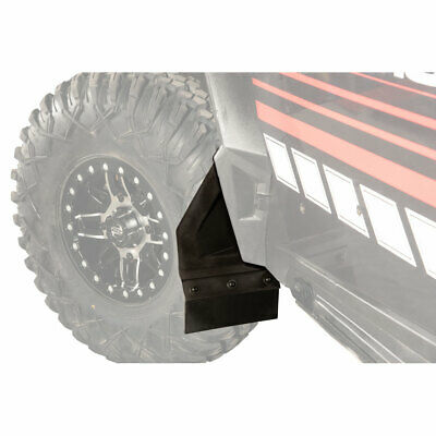 NEW UTV Fender Flares Mud Flaps for 15-18 Polaris RZR-S 900 RZR-S 1000