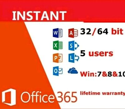 Office Home Personal Pro/5 Devices PC MAC 365 Download