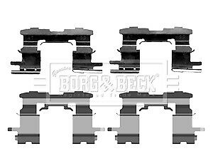 Toyota Prius NHW20 1.5 77bhp Rear Brake Pads /& Discs 269mm Solid