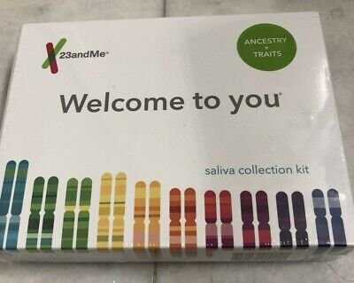 23andme Ancestry + Traits Personal Genetic Dna Saliva lab fee included. NEW