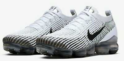 """Nike Air Vapormax Flyknit 3 """"Cookies and Cream"""" Running AJ6900-105 Men's Size 7"""