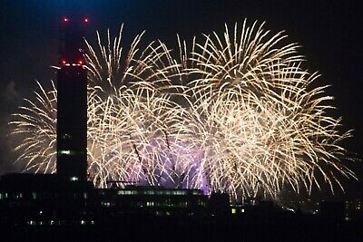London NYE Firework 2020